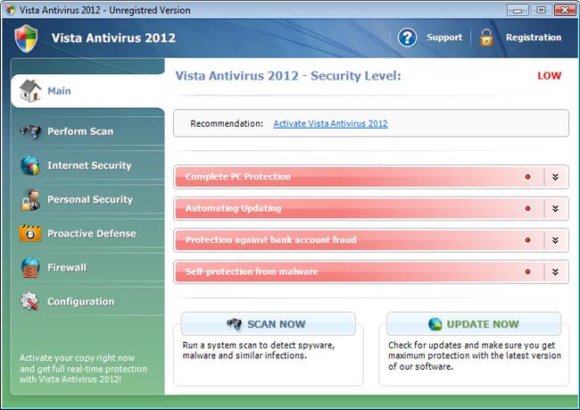 oprogramowanie malware udające antywirusa